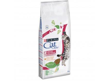 Purina® Cat Chow® Urinary Tract Health s vysokým podílem kuřete
