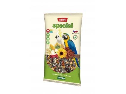 Darwin's Special velký papoušek 1kg