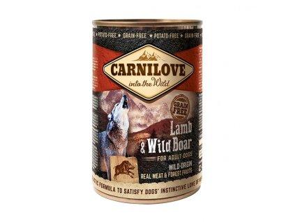 Konzerva Carnilove Wild Meat Lamb&Wild Boar 400g