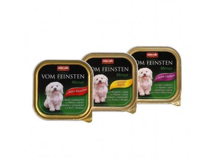 Animonda Vom Feinsten Menue paštika pro psy jehněčí+obiloviny 150g