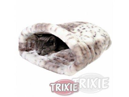 Trixie Plyšový pytlík LEILA béžovo-bílý 25x27x45 cm