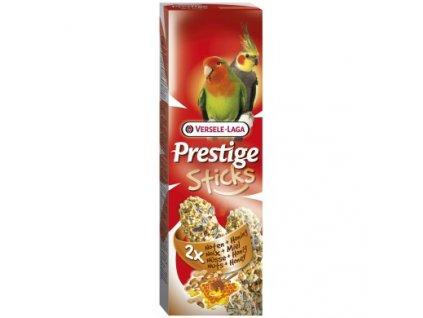 Versele-Laga Prestige Sticks tyčinky pro velké papoušky med+ořech 2x70 g