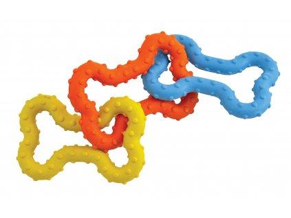 Petstages gumový řetěz z kostiček