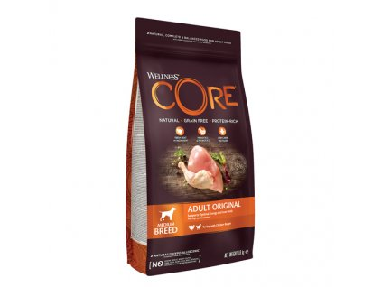 Wellness CORE Original Turkey with Chicken Recipe 1,8kg