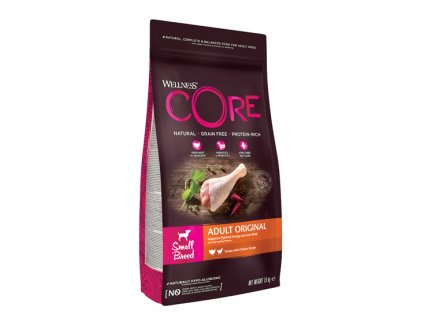 Wellness CORE Small Breed Original Turkey Recipe 1,5kg