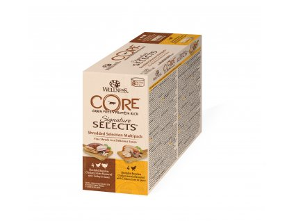 Wellness CORE Signature Selects Shredded Selection Multipack