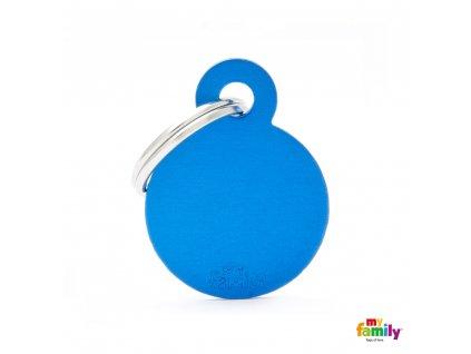 Známka Basic Allu kroužek malý modry