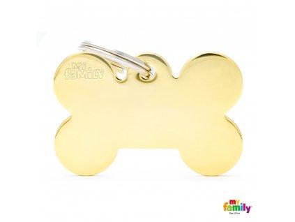 Známka Basic Gold - kost velká