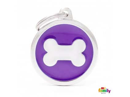 Známka Classic - kroužek kost purpurovy