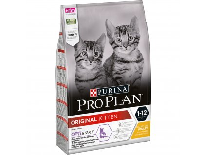 Purina Pro Plan Cat Kitten kuře 3kg