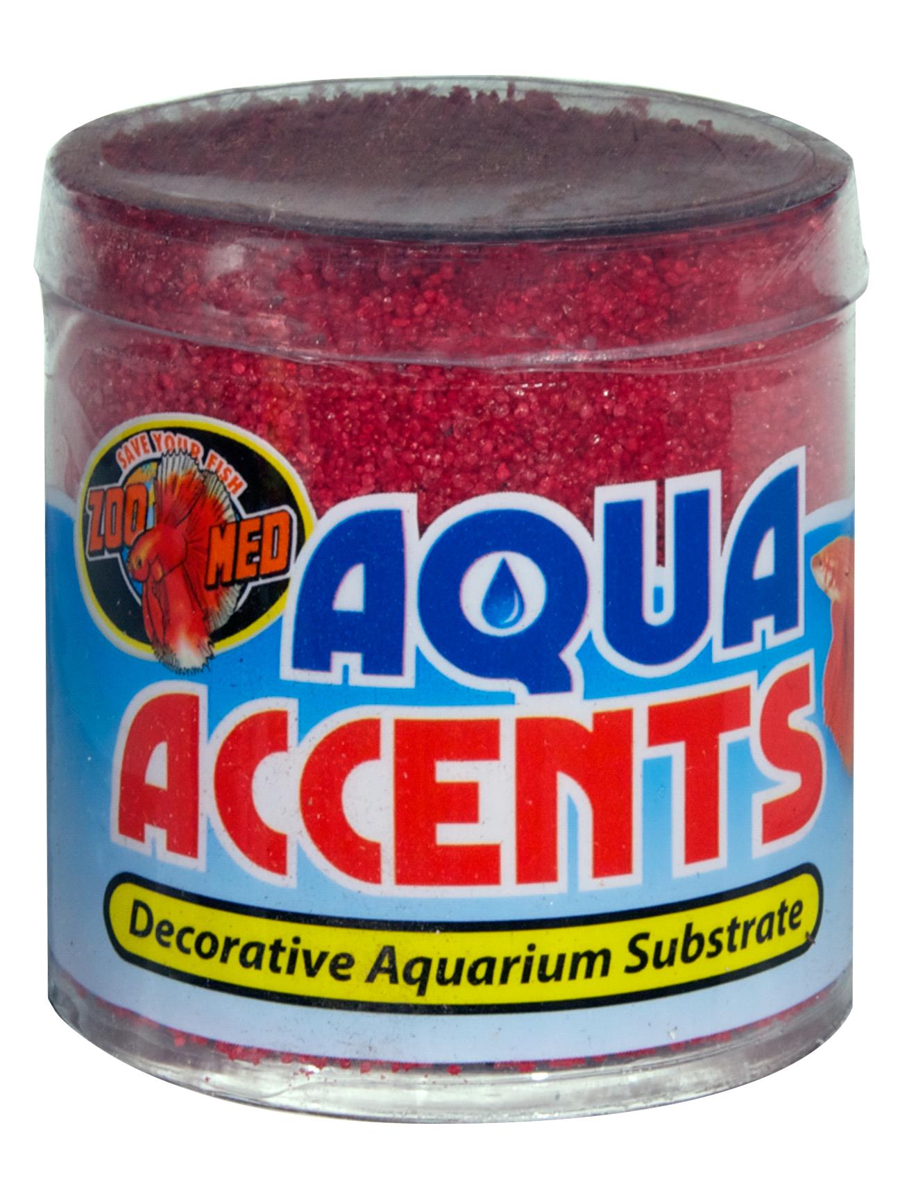 Zoomed Aqua Accents kamínky radikální červený