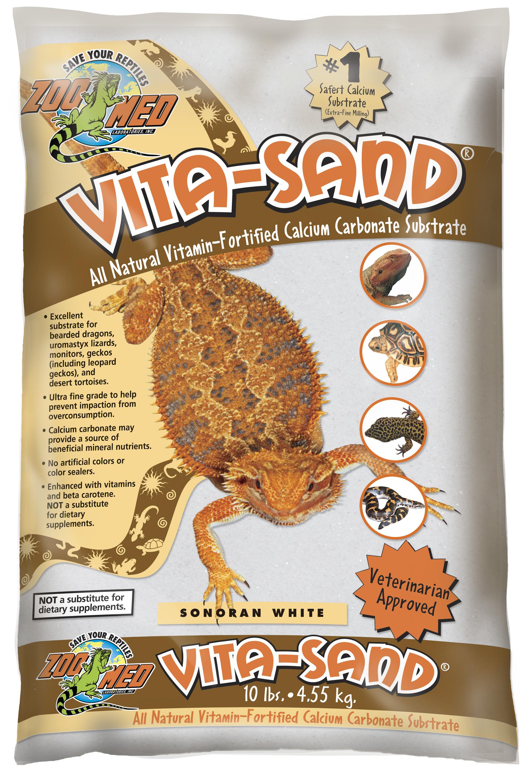 Zoomed Vita-Sand® Terarijní písek - bílý