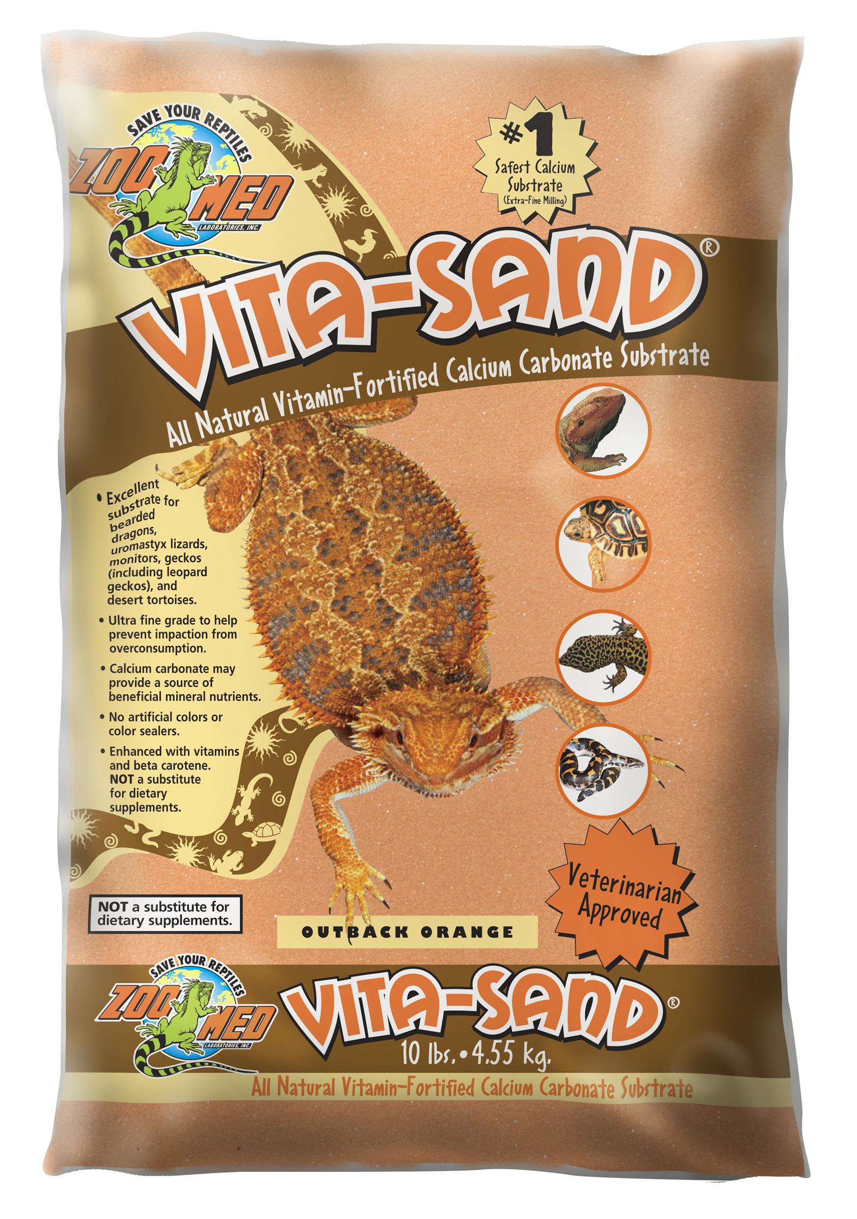 Zoomed Vita-Sand® Terarijní písek - oranžová