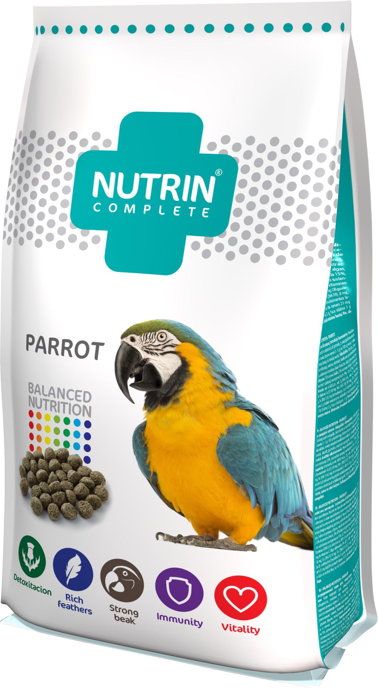 Darwin's NUTRIN Complete papousek 750g