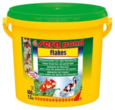 Sera kompletní krmivo pro ryby v jezírku Pond Flakes 3000ml
