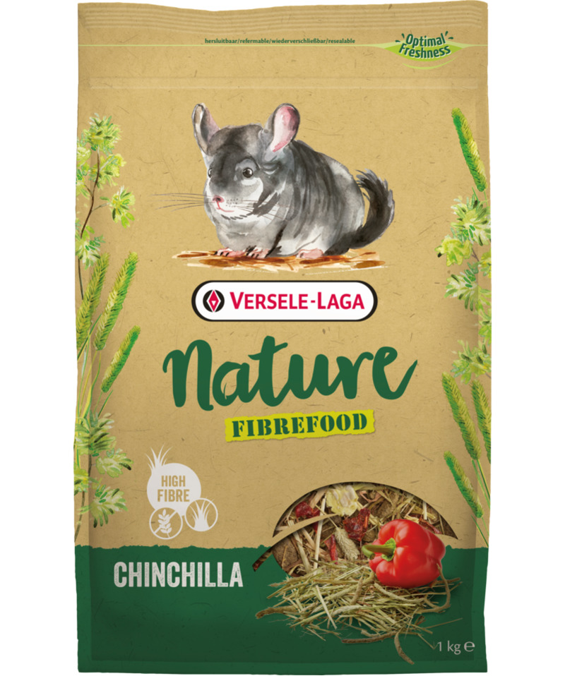 Versele-Laga Nature Fiberfood Chinchilla 1kg
