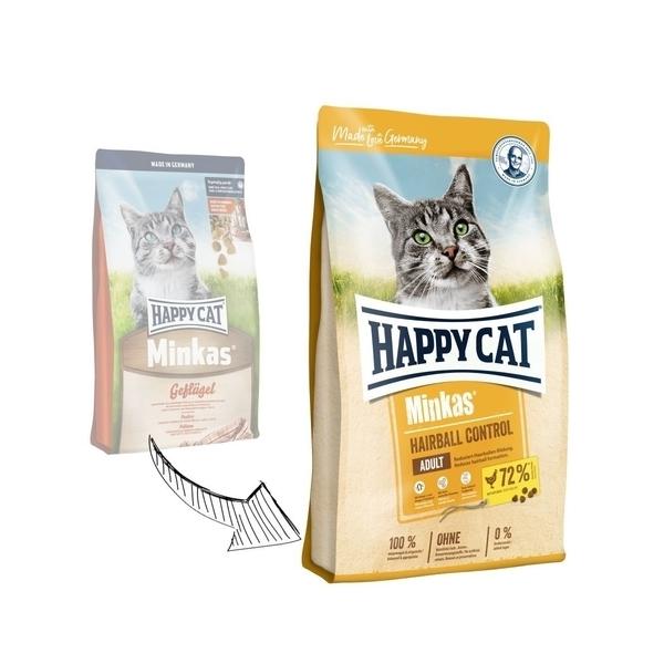 Happy cat Minkas Hairball Control 10kg