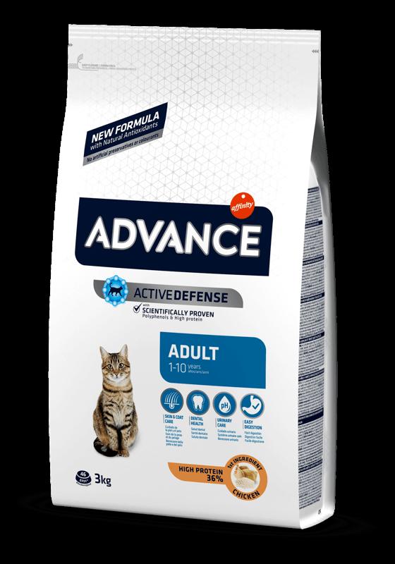 ADVANCE CAT Adult kuře a rýže 3kg