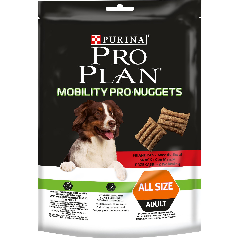 Purina Pro Plan Dog Snack Mobility PRO Nuggets hovězí 300g
