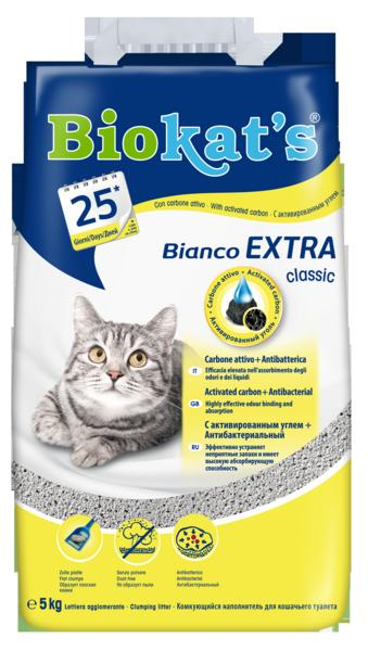 Biokat's Podestýlka BIOKATS BIANCO Extra 5kg
