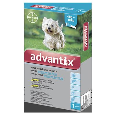 Advantix antiparazitikum pro psy 4-10 kg