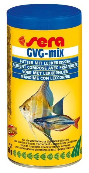 Sera doplňkové krmivo pro akvarijní ryby s obsahem jódu GVG-mix 250ml