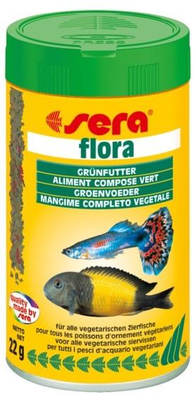 Sera základní krmivo pro býložravé ryby Flora 100ml