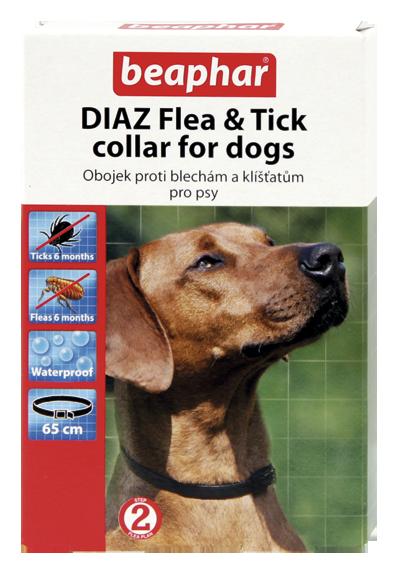 Beaphar Diaz antiparazitický obojek pro psy 65cm