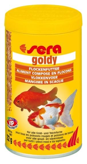 Sera základní krmivo pro studenovodní ryby Goldy 100ml