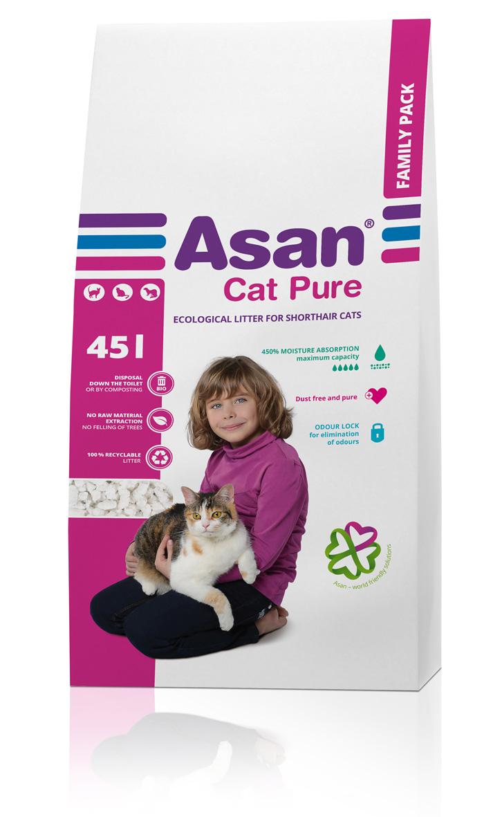 Asan Cat Pure stelivo 45 l