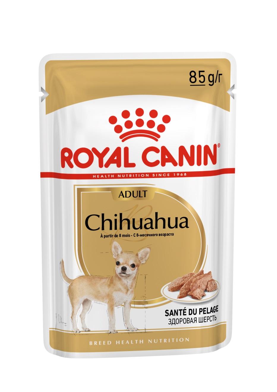 Royal Canin Chihuahua Loaf paštika 12x85g