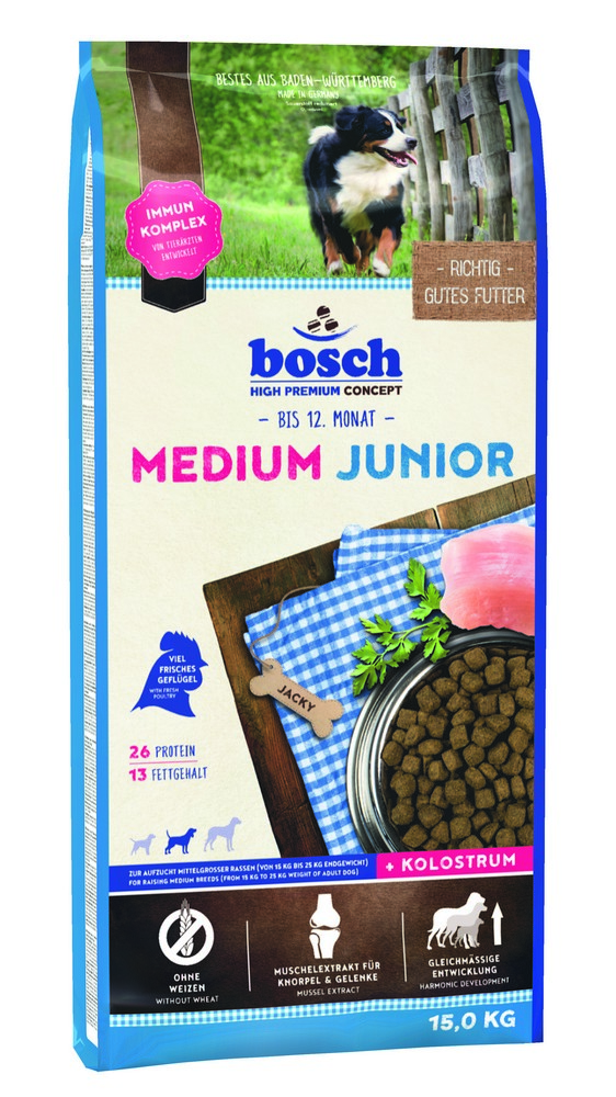 BOSCH HPC Medium Junior 15kg