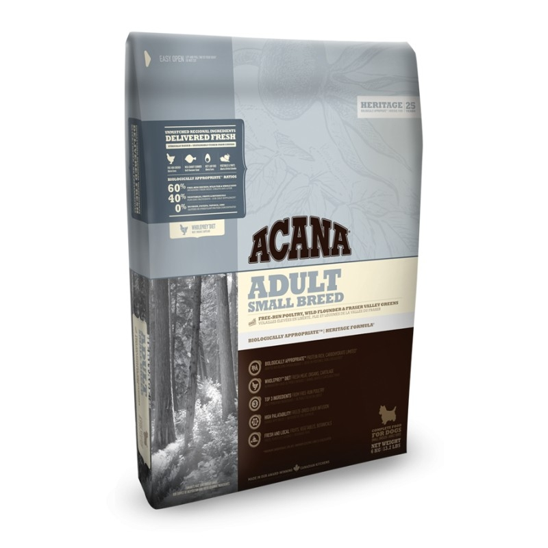 Acana HERITAGE Class. Adult Small Breed 2kg