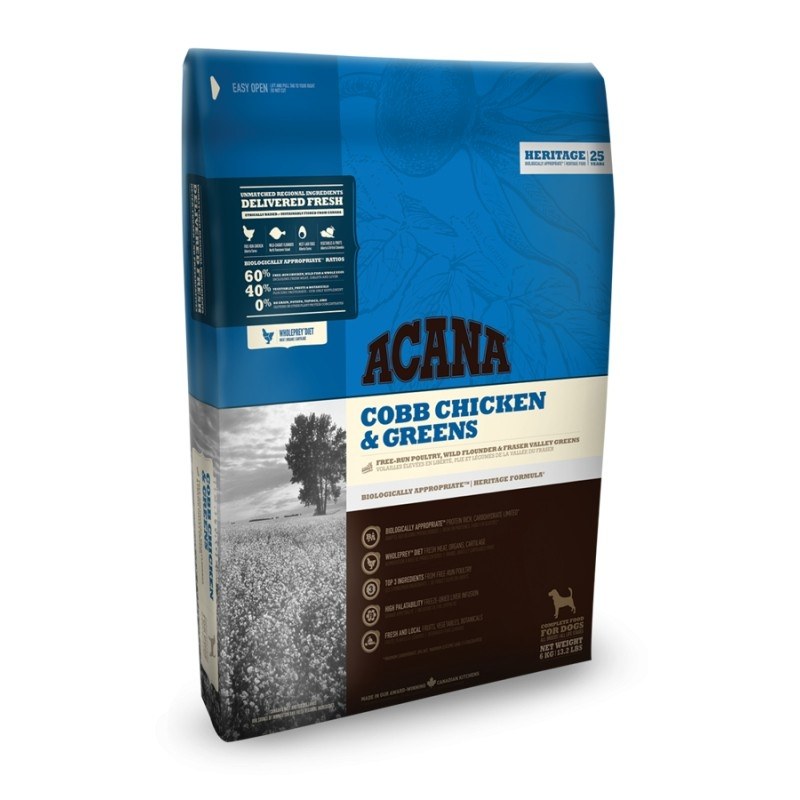 Acana HERITAGE Class. Cobb Chicken and Greens 11,4kg