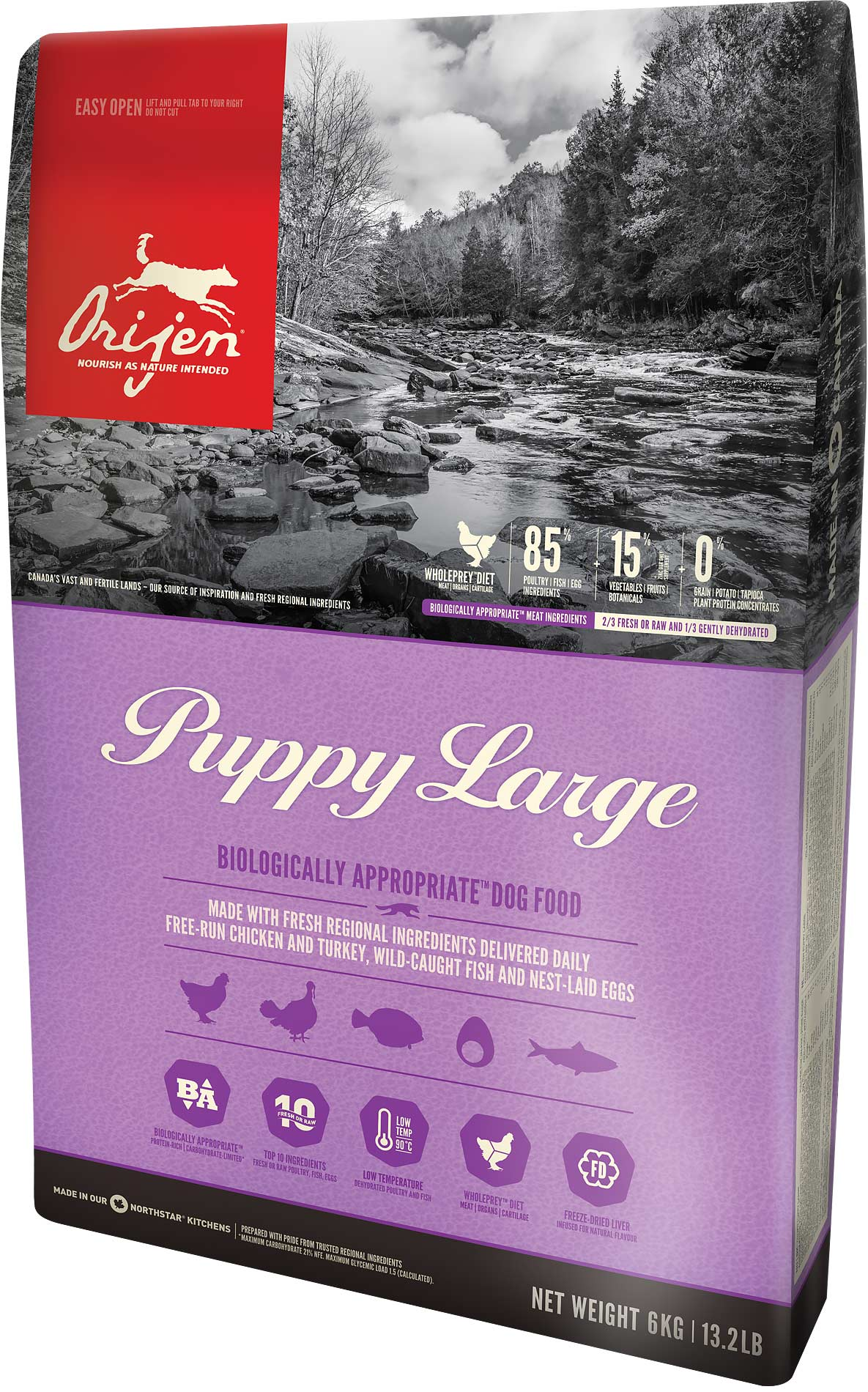 Orijen Dog Puppy Large 11,4kg
