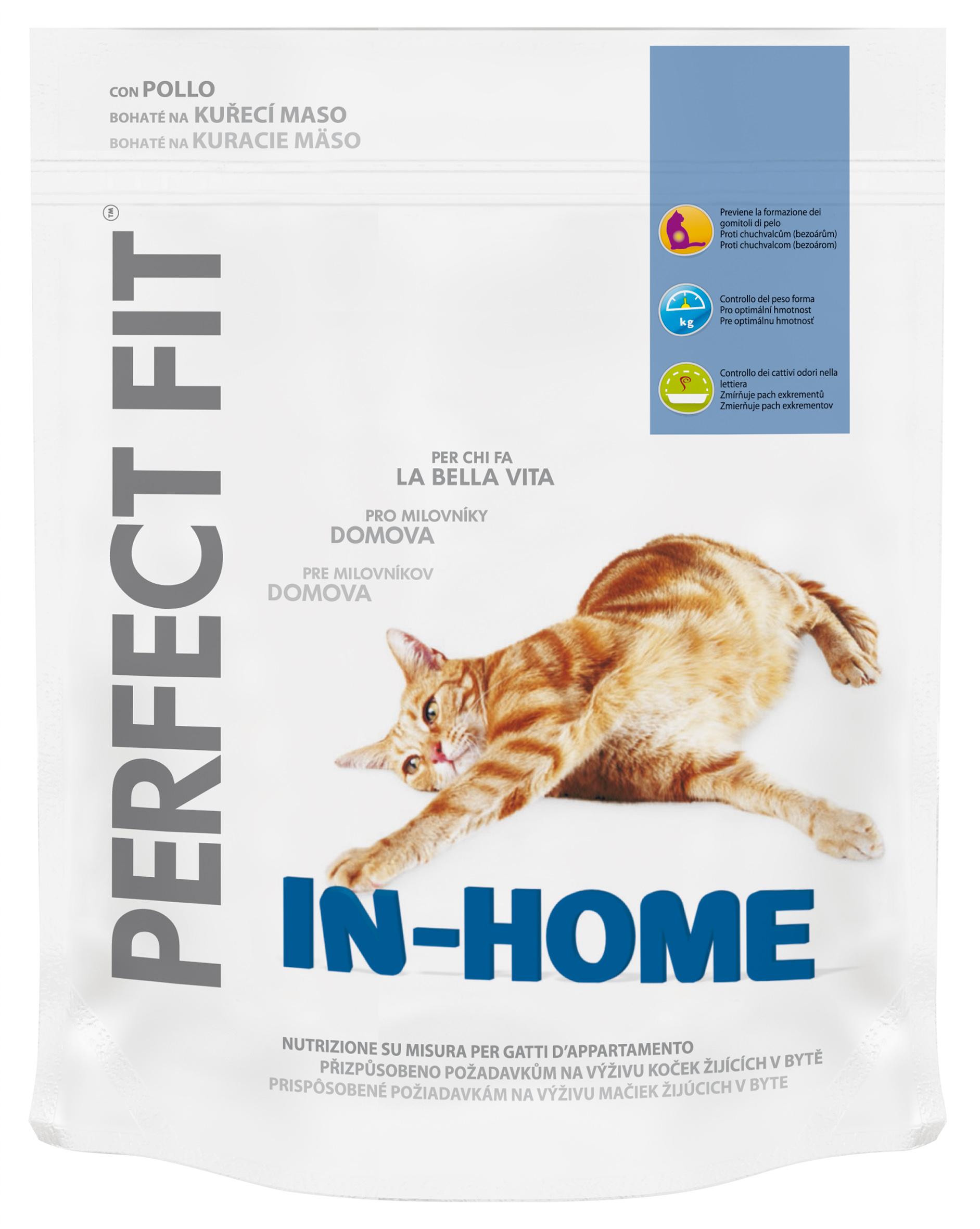 PERFECT FIT granule In Home - s kuřecím masem 750g