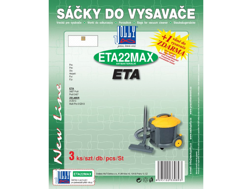 Jolly ETA22MAX