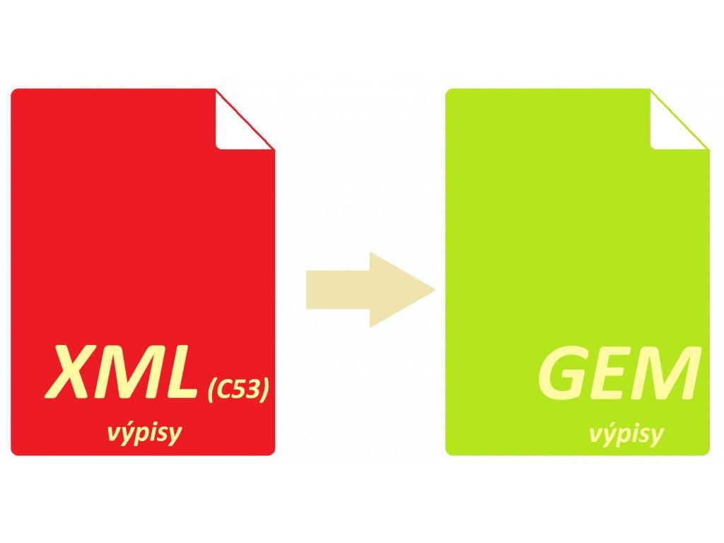 XMLtoGEM