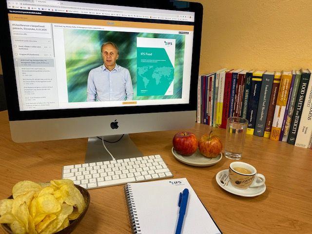 Proběhla online IFS konference pro Slovensko 8.10.2020