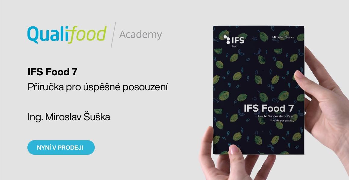 Nová kniha o normě IFS Food v7