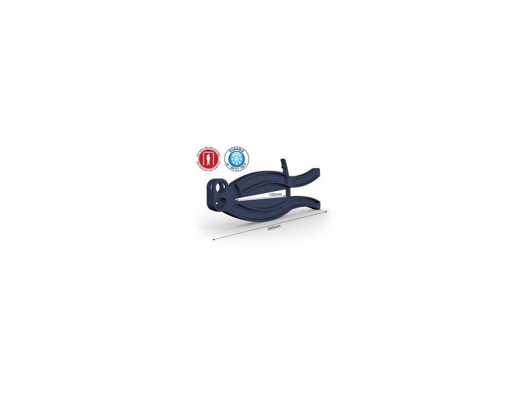 Sponka WeLoc Gripper FD - modra, detekovatelná