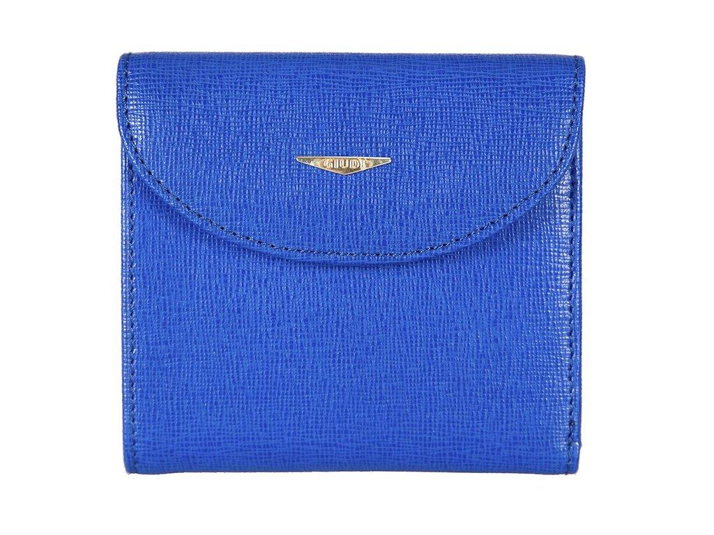 dámská modrá kožená peněženka 6470/TRP/CRF, GIUDI