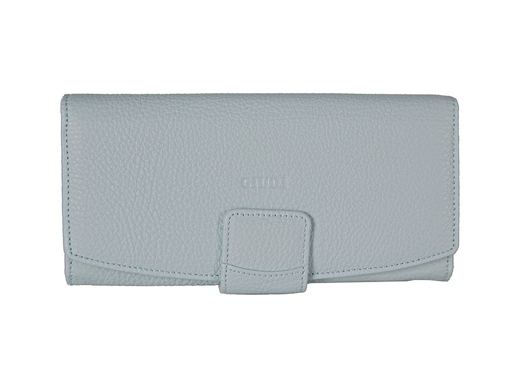 dámská modrá kožená peněženka 6529/AE, GIUDI