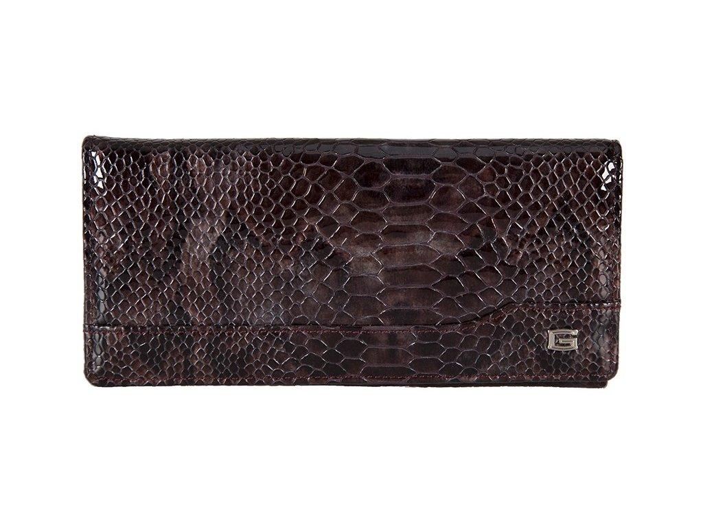 dámská hnědá kožená peněženka 68987/MUL, GIUDI