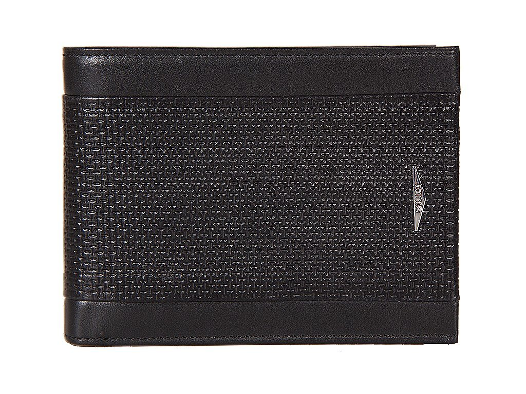 pánská černá kožená peněženka 7432, GIUDI
