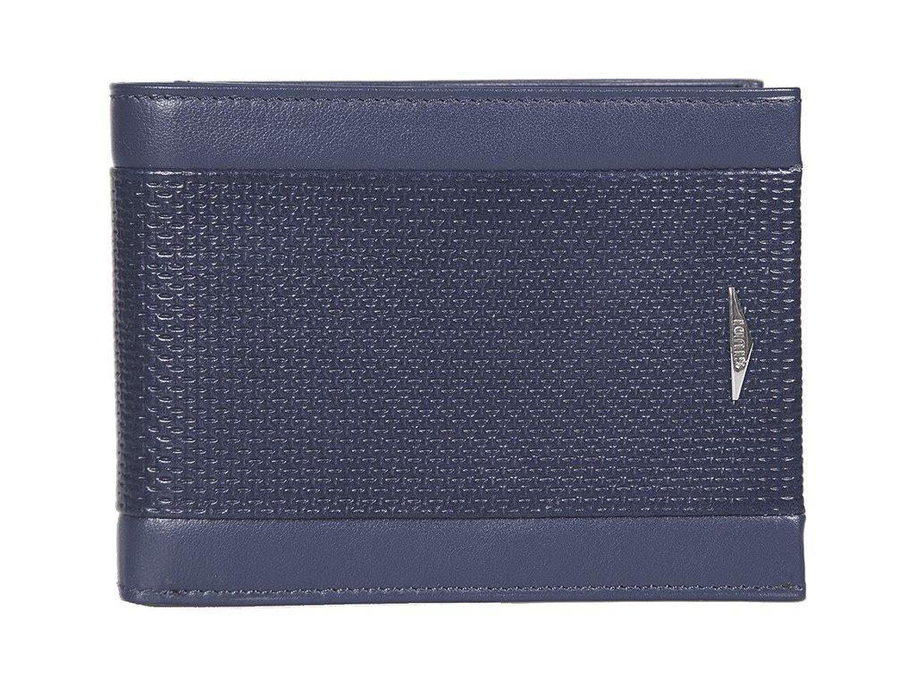 Kožená peněženka GIUDI Luca - modrá