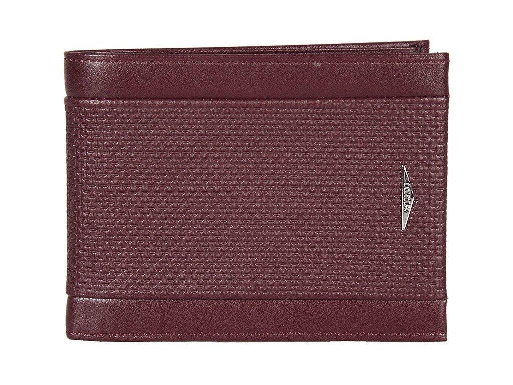 pánská červená kožená peněženka 7432, GIUDI