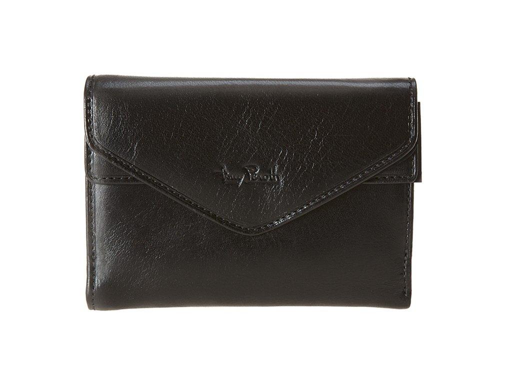 Dámská kožená peněženka TONNY PEROTTI Venice - černá