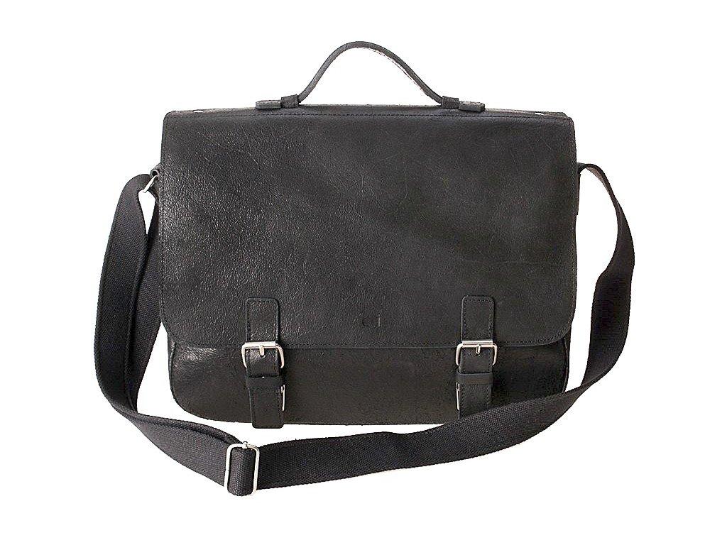 Pánská kožená taška značky daag