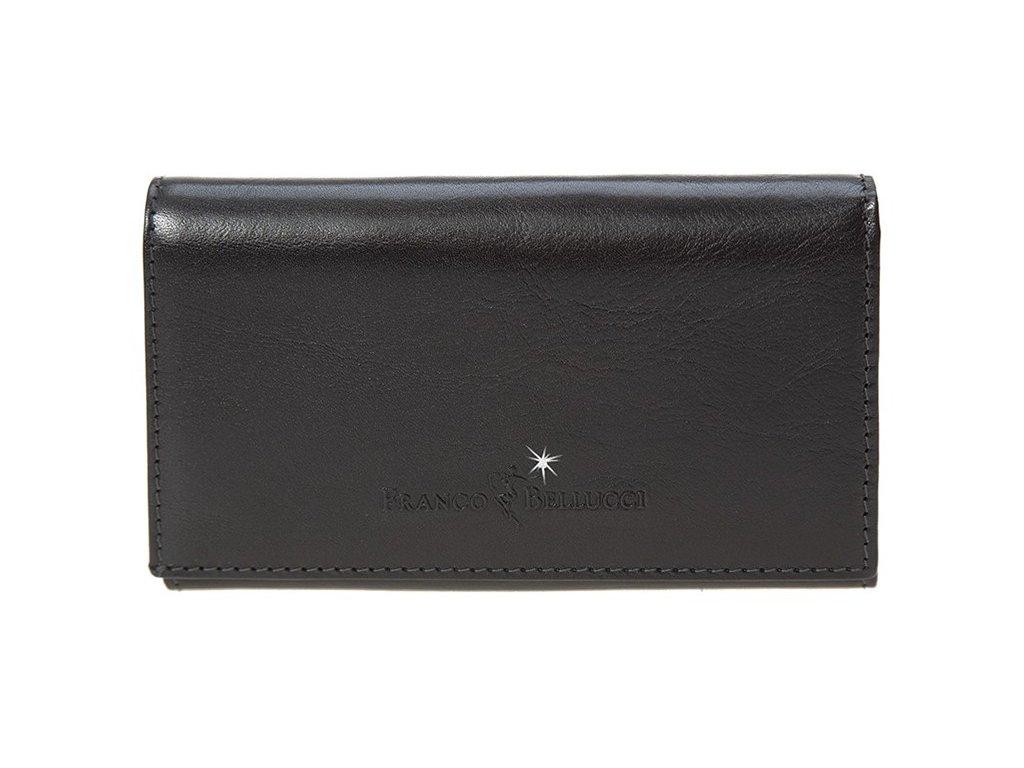 Dámská kožená peněženka FRANCO BELLUCCI Frederica - černá